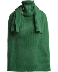 Raf Simons - - Sweater Inspired Wool Scarf - Womens - Green - Lyst