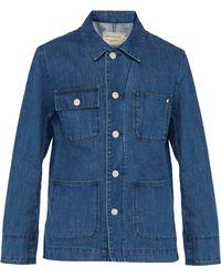 Maison Kitsuné - Denim Worker Jacket - Lyst