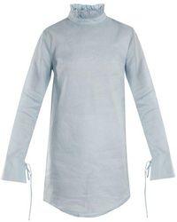 Cecile Bahnsen - Nelly Cotton Mini Dress - Lyst