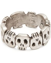 Aris Schwabe - Crypt Sterling Silver Ring - Lyst