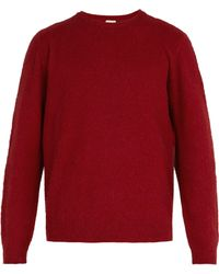 Massimo Alba - Brushed Camel Hair Jumper - Lyst