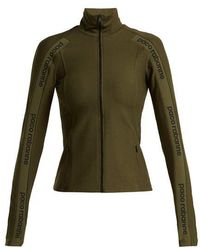 Paco Rabanne - Logo Ribbon Zipped Jacket - Lyst