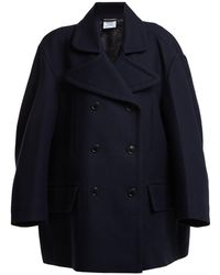 Vetements - Oversized Double-breasted Wool-blend Coat - Lyst
