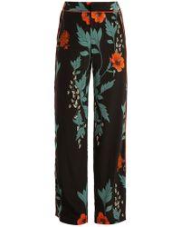 Johanna Ortiz - Floral-print High-rise Silk Trousers - Lyst