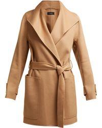 JOSEPH - Lista Wool Blend Coat - Lyst
