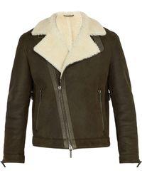 JOSEPH - Winston Slim-fit Shearling Jacket - Lyst