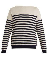 M.i.h Jeans - Margot Striped Wool Sweater - Lyst