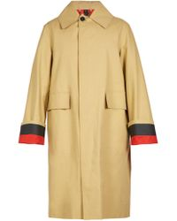 Burberry | Point-collar Trench Coat | Lyst
