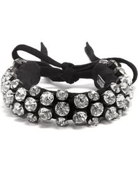 Isabel Marant - Embellished Leather Cuff - Lyst