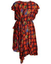 Preen Line - Ora Floral Print Dress - Lyst
