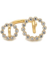 Charlotte Chesnais - System Diamond & Yellow-gold Ring - Lyst