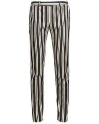 Altuzarra - Henri Stripe-print Slim-leg Trousers - Lyst