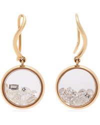 Aurelie Bidermann - Chivor 18kt Gold & Diamond Earrings - Lyst