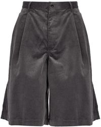 Comme des Garçons - Cotton-corduroy Shorts - Lyst