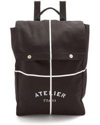 Maison Margiela | Printed Canvas Backpack | Lyst