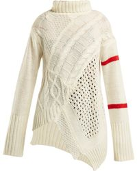 Preen Line - Serenity Cable Knit Jumper - Lyst