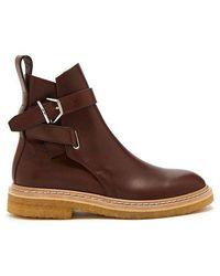 Acne Studios - Julian Leather Chelsea Boots - Lyst