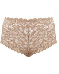 Hanro - Moments Lace Briefs - Lyst