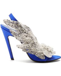 Balenciaga - Talon Slash Court Shoes - Lyst