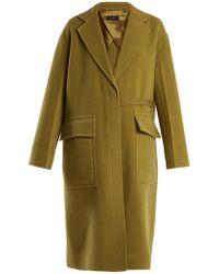 Joseph | Silla Double-faced Wool Blend Coat | Lyst