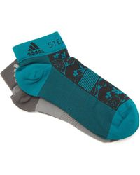 adidas By Stella McCartney - Set Of Two Flower-jacquard Socks - Lyst