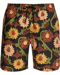 Saturdays NYC - Timothy Peony Print Swim Shorts - Lyst
