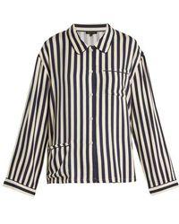 Morgan Lane - Dillon Striped Pyjama Shirt - Lyst