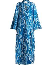 La Doublej Editions - Polipo Kaftan Dress - Lyst