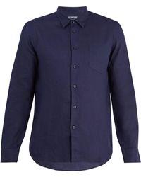 Vilebrequin - Caroubis Point-collar Linen Shirt - Lyst