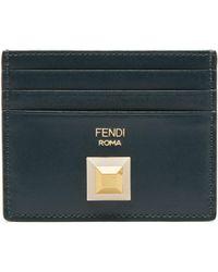 Fendi - Leather Card Case - Lyst