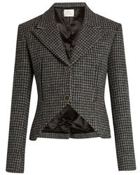 Hillier Bartley - Hound's-tooth Checked Wool Jacket - Lyst