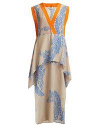 Fendi - Ramage Floral-print Silk-crepe Kaftan - Lyst