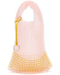 Jil Sander - Market Small Embellished Net Tote Bag - Lyst