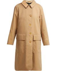 Burberry - Dayrell Cotton Gabardine Trench Coat - Lyst