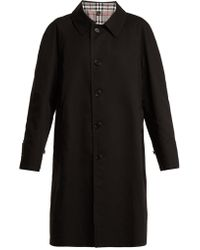 Burberry - House-checked Reversible Coat - Lyst