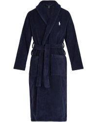 Polo Ralph Lauren - Mid-weight Cotton-terry Robe - Lyst