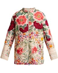By Walid - Samia 19th Century Embroidered Silk Jacket - Lyst