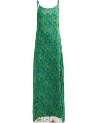 17ccfeb74c11b Chufy - Tarabel Reversible Abstract Print Slip Dress - Lyst