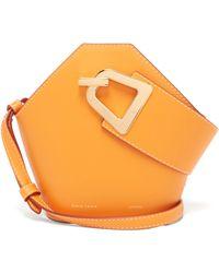 349e3d3a4247 Danse Lente Johnny Mini Leather Bucket Bag in Blue - Lyst
