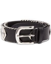 Isabel Marant - Tehora Leather Belt - Lyst