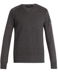Canada Goose - - Mcleod Merino Wool Jumper - Mens - Dark Grey - Lyst