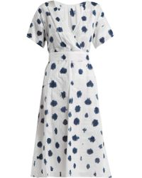 Rachel Comey - Weekend Tie Dye Cotton Dress - Lyst