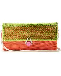 Sophie Anderson - Romina Toquilla-straw Cross-body Body - Lyst