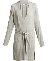Skin - Karolina Cotton Blend Robe - Lyst