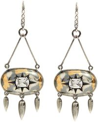 Bottega Veneta | Stellular Cubic-zirconia Drop-earrings | Lyst