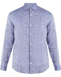 Frescobol Carioca - Point-collar Linen Shirt - Lyst