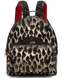 60203c05e46 Christian Louboutin Backloubi Backpack in Black - Lyst