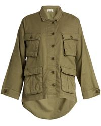 The Great | The Commander Lightweight Woven Jacket | Lyst