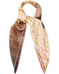 Mary McCartney - Legs Eleven Print Silk Scarf - Lyst