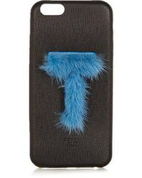 Fendi - Leather Iphone® 6 Case - Lyst